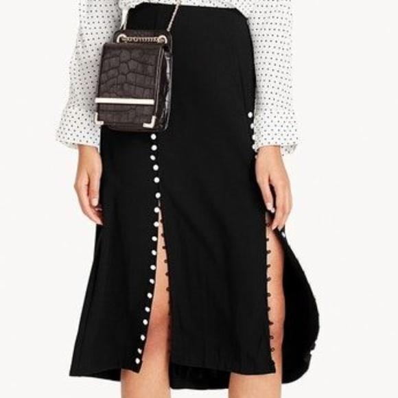 d8377d6414 Pomelo Skirts | Harper Midi Buttoned Skirt | Poshmark